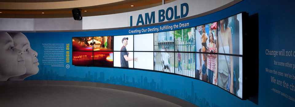Empowerment video wall